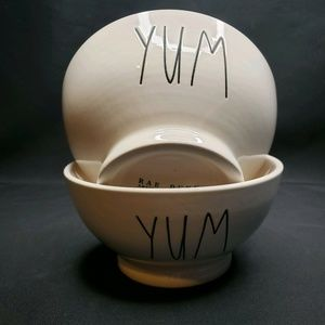 Rae Dunn By Magenta YUM Breakfast Soup Bowls